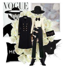 """Sin título #619"" by angstylist on Polyvore featuring moda, Yves Saint Laurent, Jacquemus, Miu Miu, Ann Taylor, Gucci y Linda Farrow"