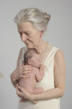 Sam Jinks: Although both artists would loathe the comparison, it's hard not to reference Ron Mueck when discussing the incredibly lifelike foam, silicon, paint and human hair sculptures of Melbourne artist Sam Jinks. A frail, beautiful, old woman clutches a tiny newborn to her breast. It is the embodiment of intimacy and connection. In one scene, we witness the conclusion of one life and the beginning of another in all its sadness, joy and beauty. It's a deft summation of Jinks' work.