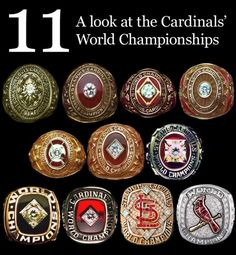 Ring smugness. | 23 Reasons It's Perfectly OK To Despise The St. Louis Cardinals
