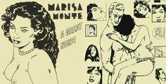 Barulhinho Bom (CD de Marisa Monte - capa com ilustrações de Carlos Zéfiro)