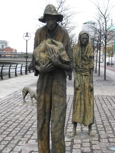 Famine Statues Dublin, Ireland October, 2010 (saw these when there). Dublin Ireland, Ireland Travel, Bronze, Irish Eyes Are Smiling, Irish Roots, Irish Celtic, Emerald Isle, Outdoor Art, British Isles