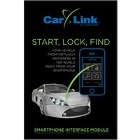 Remote start, security and keyless entry smartphone interface module