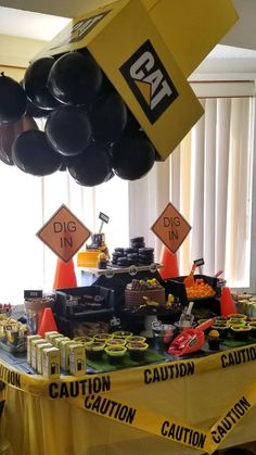 Construction Theme Boys Birthday Party