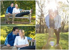 Spring engagement photo session at Ashland The Henry Clay Estate in Lexington, Kentucky.  Puppy, Dog, Golden Retriever, Brick Wall, Trees, Outdoor, Nature, Window, Love, Romantic, Southern Wedding, Kentucky Bride, Style me Pretty, Kiss, Bench, Park, Sunset. Kevin and Anna Photography www.kevinandannaweddings.com