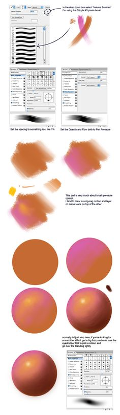Blending Tutorial by ~acidlullaby on deviantART