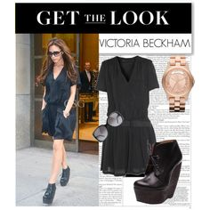 """Get the Look : Victoria Beckham"" by takieverdeen on Polyvore"
