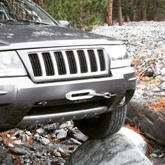 Jeep Grand Cherokee Hidden Winch Mount