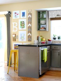 Kitchen Art Gallery Wall   Kitchen gallery wall, Kitchen gallery ...