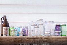 Bocaux Mason Jar #madeinUSA #americanproduct #americanmade #lecomptoiramericain #Mason #jar #ball #ker #bocaux #bocal #verre #growler