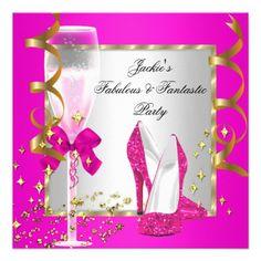 elegant birthday invitations for women   ... pink silver birthday party yellow gold birthday party fabulous elegant
