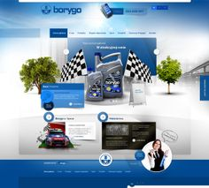 Borygo  Graphic Design, Interaction Design, Web Design
