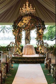ceremonie mariage theme foret