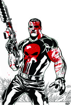 Punisher by MATTEO BUFFAGNI | Untold Tales of the Punisher, MAX