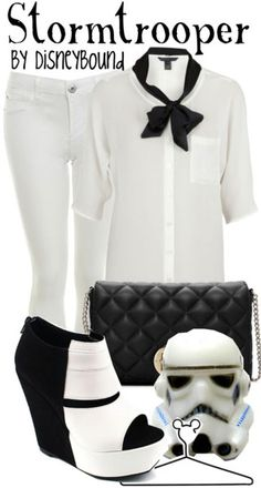Stormtrooper by Disney Bound Fashion Disney Outfit Star Wars