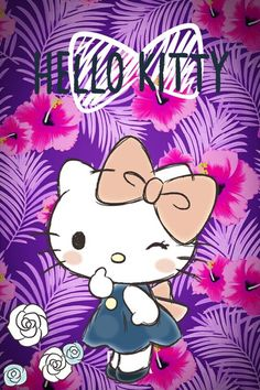 mhkitty~!★彡( ̄(工) ̄) Hello Kitty Drawing, Hello Kitty Art, Hello Kitty Themes, Hello Kitty Pictures, Sanrio Hello Kitty, Iphone Wallpaper Photos, Cute Wallpapers, Wallpaper Backgrounds, Hello Kitty Backgrounds