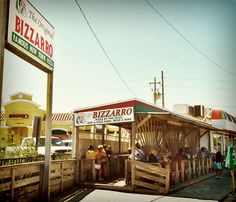 Bizzarro's Pizza - THE BEST, right by the beach in Indialantic, FL, and Satellite Beach FL. Radically Relaxing in Indialantic, Florida - Beaches Bars and Bungalows Travel Blog
