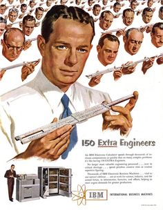 """IBM Gives you 150 Extra Engineers...IT """"value selling"""" in its early days."""