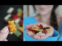 "Vegan plant-based ""gummy bears."" How cool and creative?"
