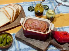 À la française com terrine de porc