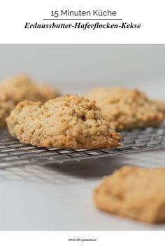 Mmmh, Erdnussbutter. Diese einfachen Kekse sind außen knusprig, innen flaumig und funktionieren auch in einer glutenfreien Variante gut. Ein Rezept für immer wieder und zwischendurch. Krispie Treats, Rice Krispies, Fodmap, Cakes And More, Panama, Peanut Butter, Sweet Tooth, Low Carb, Sweets
