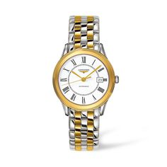 For Father's Day! Longines Men's La Grande Classique L47743217 Watch #longines #menswatch #gift #ForDad #laingsofglasgow