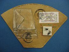Nathalie Labois-Debesson POUR SYLVAIN Journée mondiale du faux timbre d'artiste 21 11 2014
