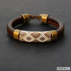 Bransoletki Mozaika złocista