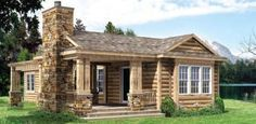 Great Western Homes Inc. Modular Homes in Salida Colorado, Chaffee, Park, Fremont counties Small Cottage Plans, Small Cottage Kitchen, Cottage Kitchens, Cottage House Plans, Cottage Homes, Cabin Homes, Cottage Farmhouse, Log Homes, Log Cabin Floor Plans