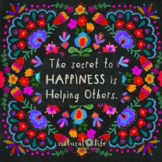 The secret to happiness Positive Words, Positive Thoughts, Positive Quotes, Positive Affirmations, Quotes And Notes, Words Quotes, Sayings, Natural Life Quotes, Natural Beauty Quotes