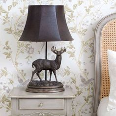 Stag Lamp | Luxury Lighting from The French Bedroom Company