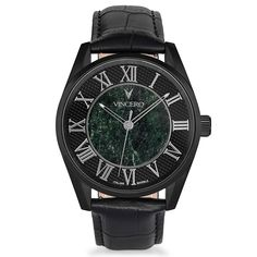 The Black Verde is a limited-edition timepiece handcrafted with premium Italian marble. Each timepieceis individually numbered. This watch does more...