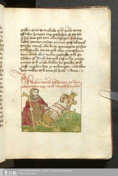147 [71r] - Ms. germ. qu. 99 - Vita Jesu Christi in deutscher Bearbeitung - Page - Mittelalterliche Handschriften - Digitale Sammlungen Schwaben, [1472-76]