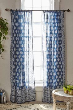 New Furniture: Sofas, Chairs, + More - shweta chaudhary - New Furniture: Sofas, Chairs, + More Plum & Bow Elysia Foil Window Curtain - Home Decor Accessories, Indian Home Decor, Diy Apartments, Curtains, Diy Apartment Decor, Apartment Decor, Foil Curtain, Indian Curtains, Trendy Bedroom