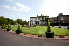 Front view of Ringwood Hall - Ringwood Hall Hotel, Chesterfield - one of Derbyshire`s, South Yorkshire and the Peak District`s most popular wedding venues.