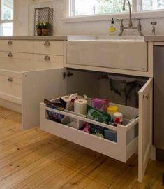 7 Best Under Sink Drawer Images Kitchen Remodel