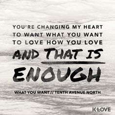 Tenth Avenue North. Was my favorite from winter jam this year.