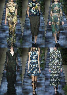 Erdem S/S 15 - London Womenswear Print Highlights Part 2 – Spring/Summer 2015 catwalks
