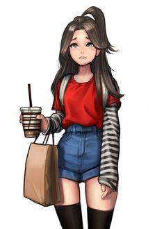weine jungon Kim on ArtStation at - drawing . - cry jungon Kim on ArtStation at – To draw weine jungon Kim on ArtStation at - drawing . - cry jungon Kim on ArtStation at – To draw – -weine jungon Kim on ArtStation at - drawing . Girl Drawing Sketches, Cute Girl Drawing, Cartoon Girl Drawing, Anime Girl Drawings, Girl Cartoon, Anime Art Girl, Drawing Ideas, Drawing Art, Outfit Drawings
