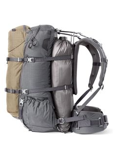 KUIU- Love the way the harness floats to allow for additional weight (ie a dead animal) to be added to the pack without shifting the center of gravity too far out or up.