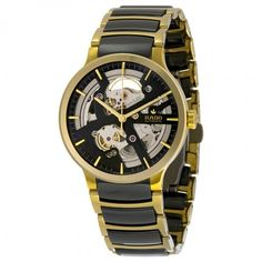 Rado Centrix Skeleton Dial Ceramic Men's Watch R30180162
