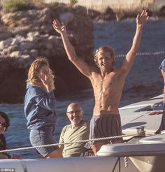 Rising star: The Mamma Mia prequel will mark his big debut into the acting world Mamma Mia, Lily James, Iconic Movies, Good Movies, Does Your Mother Know, Here I Go Again, Angel Eyes, Casino Bonus, Movies Showing