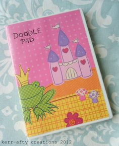 Kerr-afty Creations: DVD case to Doodle Pad