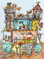 Cut Thru' Castle - Bothy Threads Cross Stitch Kit-- I am working on this one now!