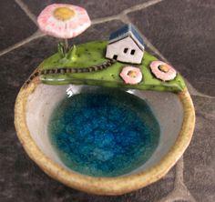 Spring...Keepsake Bowl in Stoneware by elukka on Etsy, €38.00
