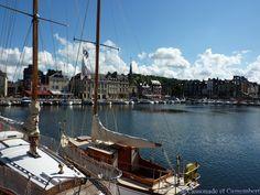 Escapade normande – le joli port de Honfleur