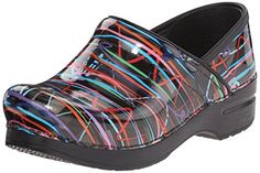 Dansko Womens Wide Pro Mule Streamers Patent 38 EU758 W US ** Check out the image by visiting the link.