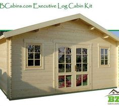 Log Cabin Kit, Pool Or Garden House, 16'5 X13', 212 Sq.Ft.Free Shipping!