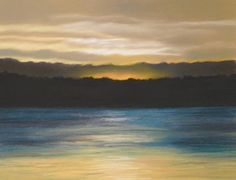 sunset Waves, Celestial, Sunset, Landscapes, Outdoor, Art, Paisajes, Outdoors, Art Background