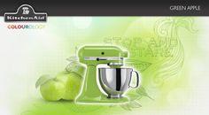 Green Apple #KitchenAid #StandMixer