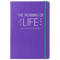 The Meaning Of Life A5 Notebook